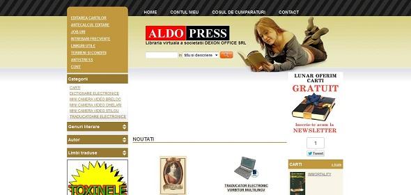 Magazinul Online Aldo Press
