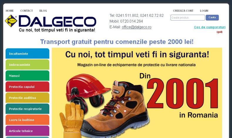 Magazinul Online dalgeco.ro