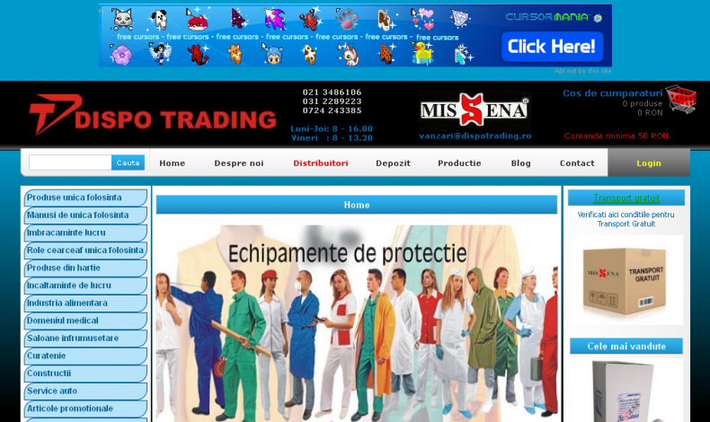 Magazinul Online dispotrading.ro