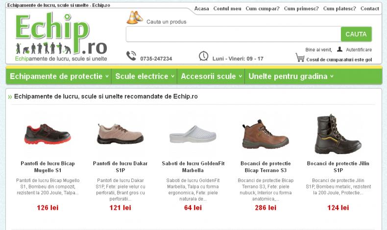 Magazinul Online echip.ro