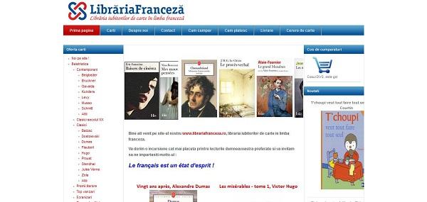 Magazinul Online Librariafranceza.ro