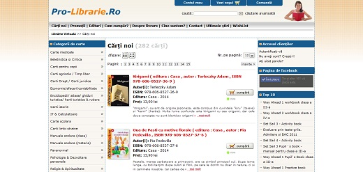 Magazinul Online Pro-Librarie