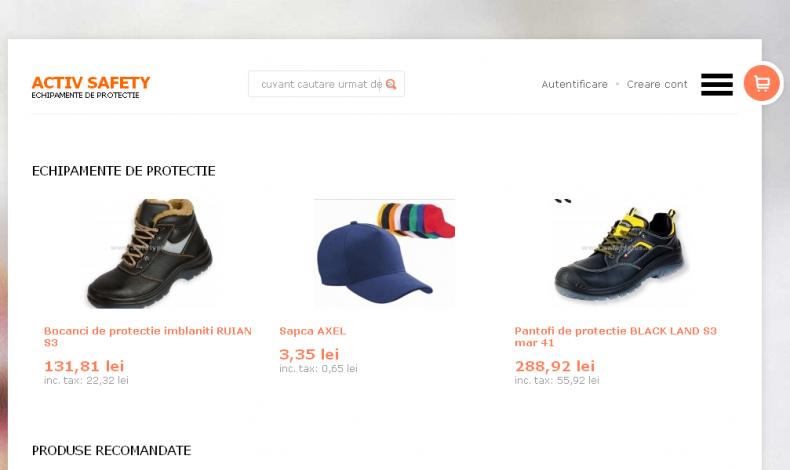 Magazinul Online safetyplus.ro