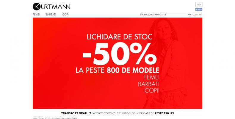 Magazinul Online kurtmann.ro