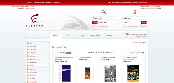 Magazinul Online Esotera.ro