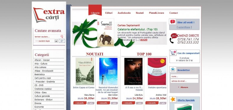Magazinul Online Extracarti.ro