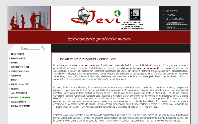 Magazinul Online jevi-shop.ro