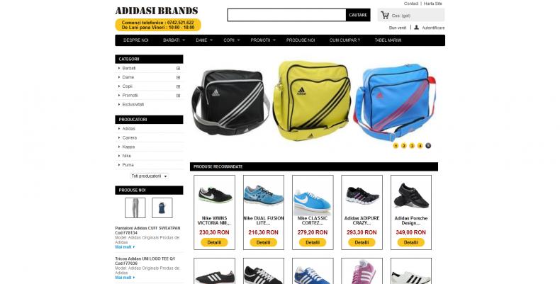 Magazinul Online adidasi-brands.ro