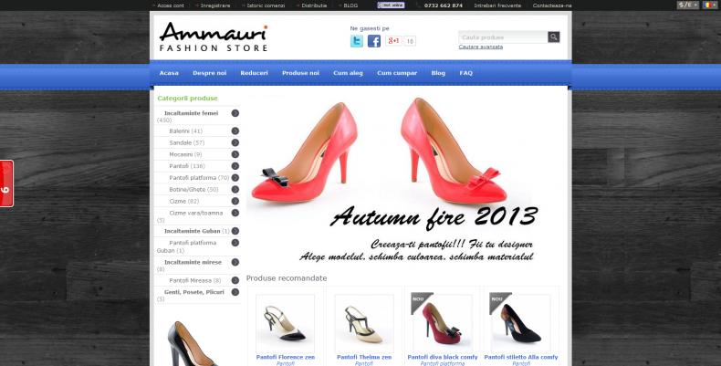Magazinul Online ammauri.ro