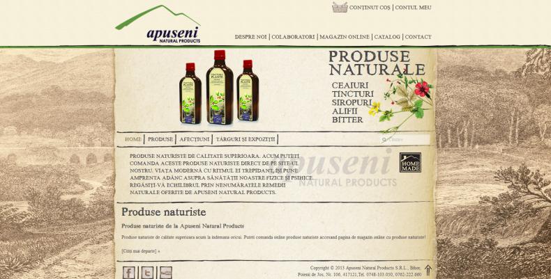 Magazinul Online apusenimed.ro