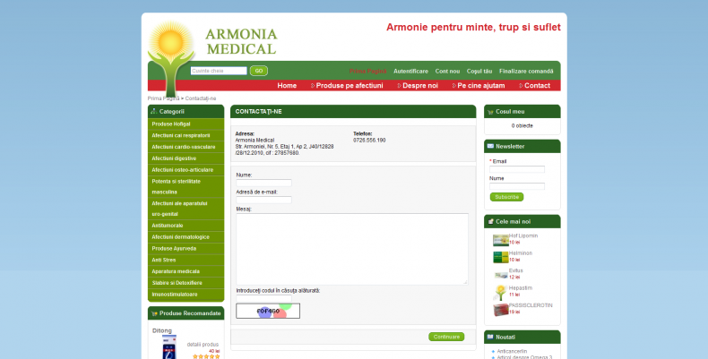 Magazinul Online armonia-medical.ro