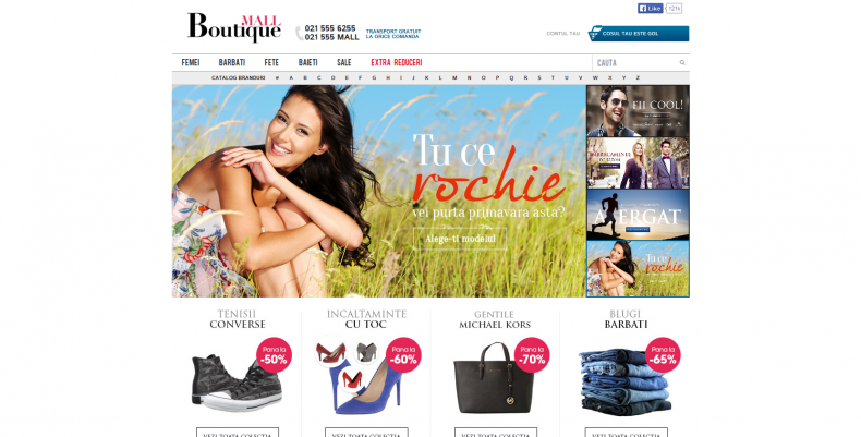 Magazinul Online b-mall.ro