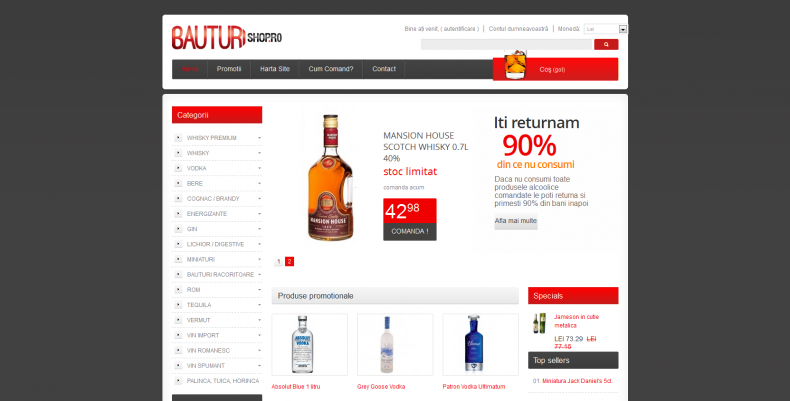 Magazinul Online bauturishop.ro