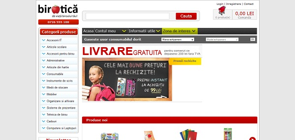 Magazinul Online birotica.ro