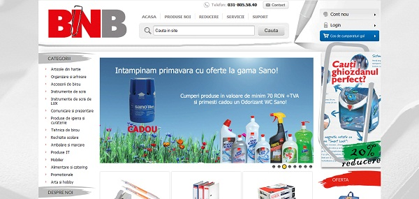Magazinul Online bnb.ro