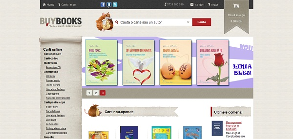 Magazinul Online buybooks.ro