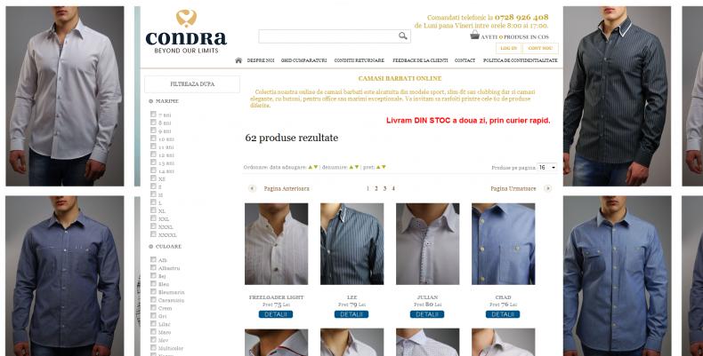 Magazinul Online camasi.com.ro