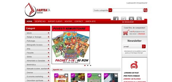 Magazinul Online carteataonline.ro