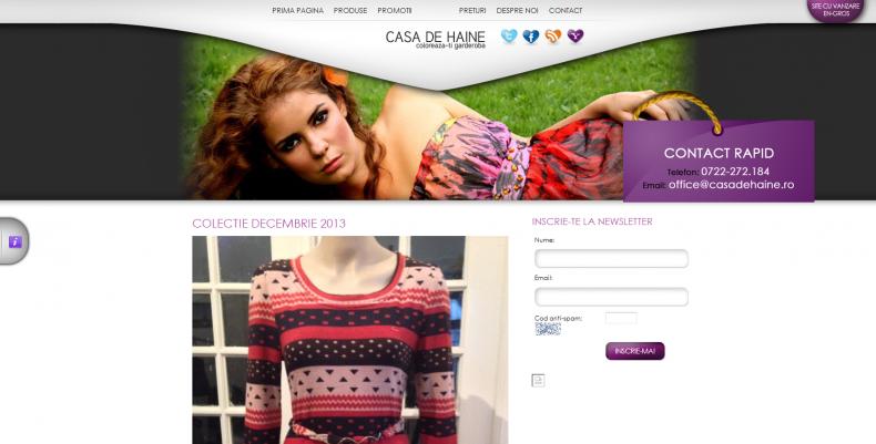 Magazinul Online casadehaine.ro