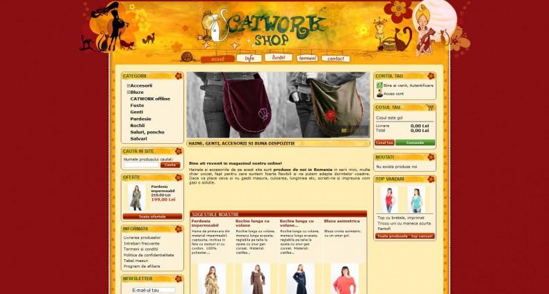 Magazinul Online catwork-shop-com