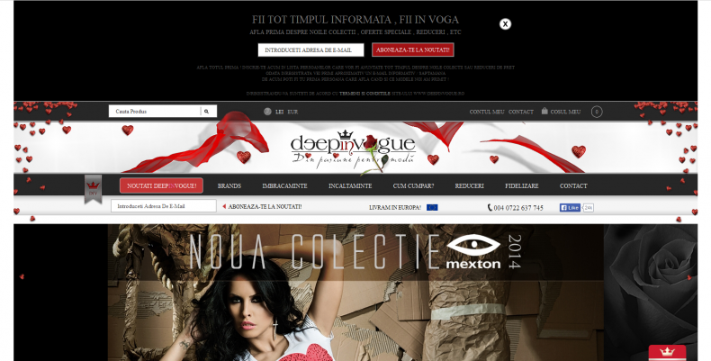 Magazinul Online deepinvogue.ro