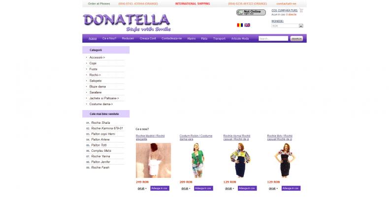 Magazinul Online donatella.ro