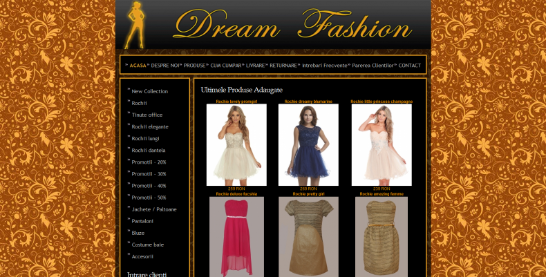 Magazinul Online dreamfashion.ro