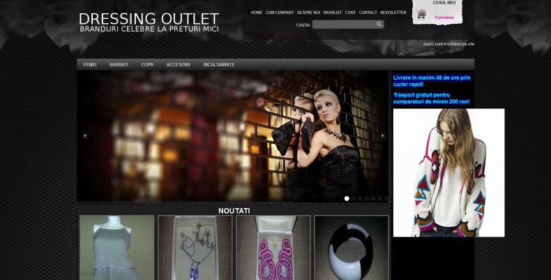 Magazinul Online dressingoutlet.ro