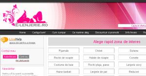 Magazinul Online e-lenjerie.ro