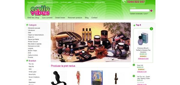 Magazinul Online eroticvibes.ro