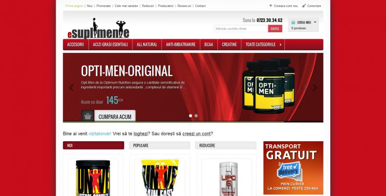 Magazinul Online esuplimente.ro