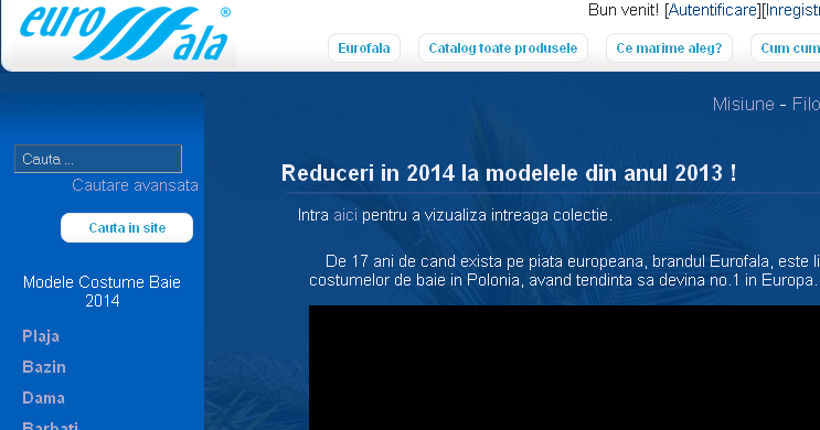 Magazinul Online eurofala.ro