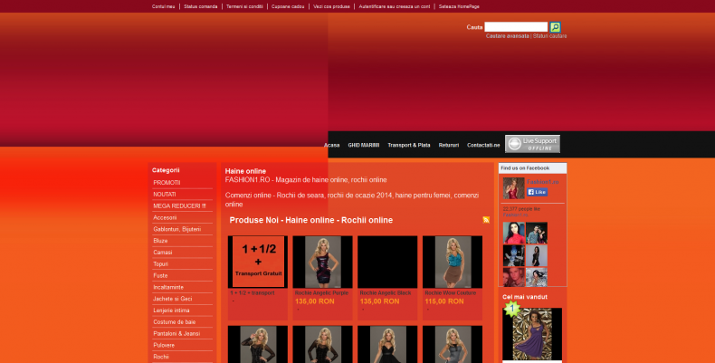 Magazinul Online fashion1.ro