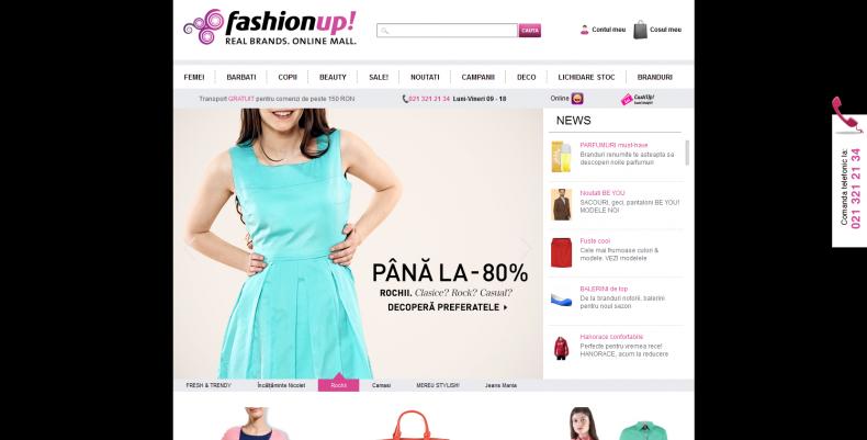 Magazinul Online fashionup.ro