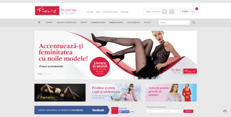 Magazinul Online fiore.ro