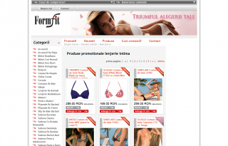 Magazinul Online formfit.ro