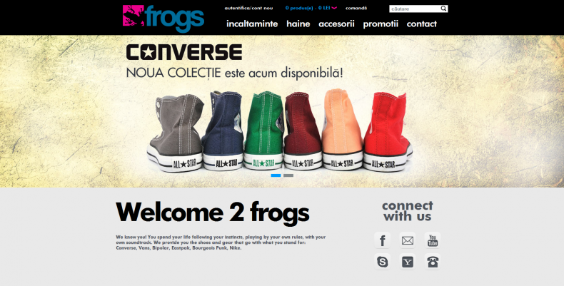Magazinul Online frogs.ro