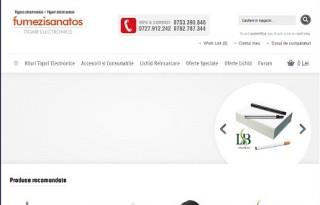 Magazinul Online fumezisanatos.ro