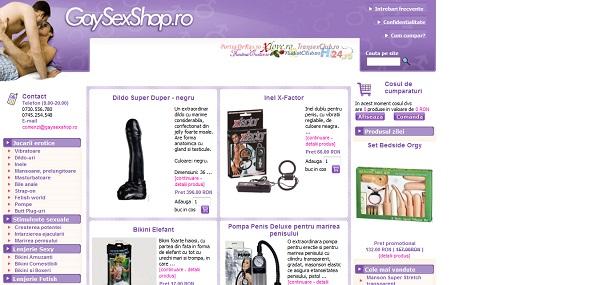 Magazinul Online gaysexshop.ro
