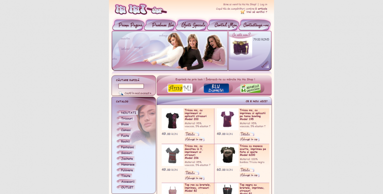 Magazinul Online hahashop.ro