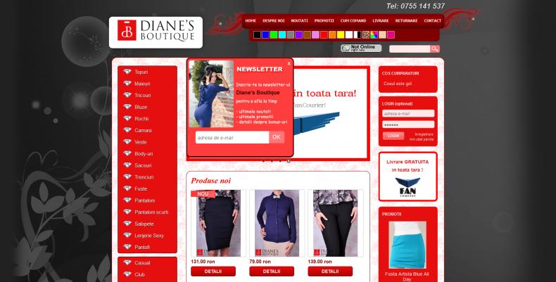 Magazinul Online hainedama.ro
