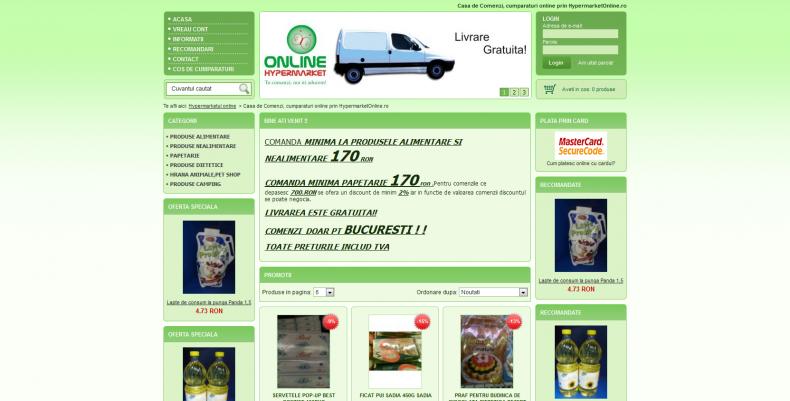 Magazinul Online hypermarketulonline.ro