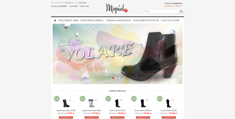 Magazinul Online incaltaminte-mopiel.ro