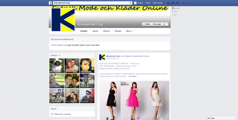 Magazinul Online klaudernet.ro