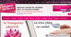 Magazinul Online lenjerie-de-lux.ro