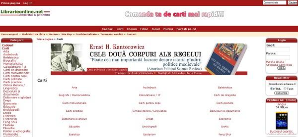 Magazinul Online librarieonline.net