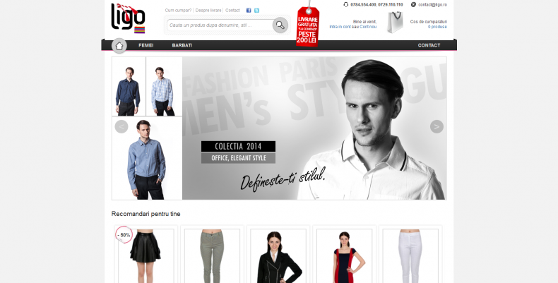 Magazinul Online ligo.ro