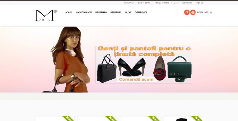 Magazinul Online m-arta.ro