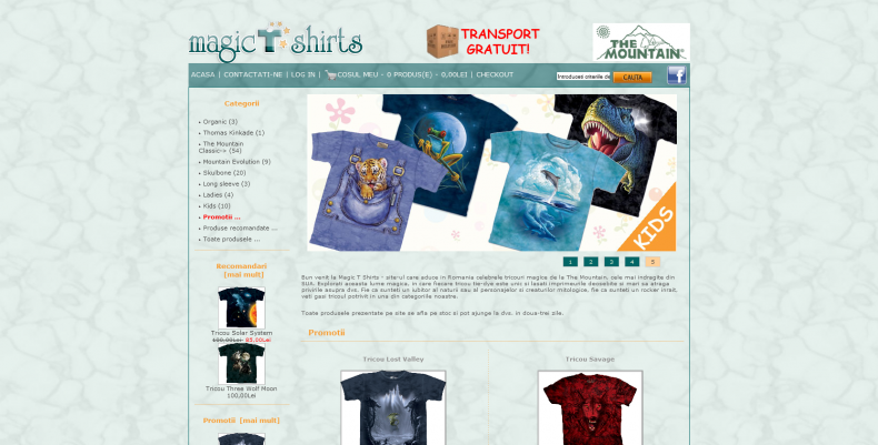 Magazinul Online magic-t-shirts.ro