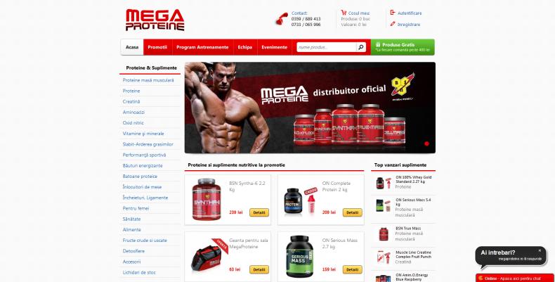 Magazinul Online megaproteine.ro